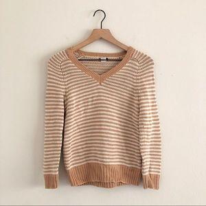 J CREW • striped knit sweater